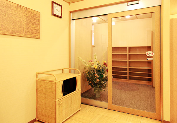 天然温泉脱衣室②